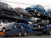 Der Autoverkauf in der Schweiz läuft wie am Schnürchen. (Archiv) (Bild: KEYSTONE/AP PA/RUI VIEIRA)