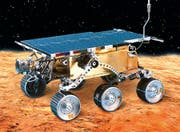 Der erste Rover landete am 4. Juli 1997 auf dem Mars. maxon lieferte elf DC-Motoren für die Antriebe, die Lenkung und die wissenschaftlichen Geräte. (Bild: PD)
