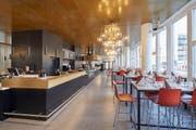 Blick ins neue Restaurant Viscosistadt. (Bild: PD)