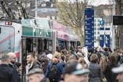 Die Nachfrage nach Bussen ist riesig. (Bild: Pius Amrein (22. März 2017))