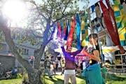 Am 16. September feierte der Jugendtreff St. Karl sein 25-Jahr-Jubiläum mit einem farbenfrohen Fest. (Bild Nadia Schärli)