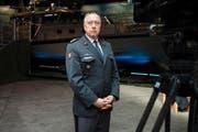 Armee-Chef André Blattmann. (Bild: Keystone / Gian Ehrenzeller)