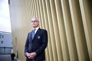 FCL-Präsident Ruedi Stäger verkündete am Dienstag an der Generalversammlung der FC Luzern- Innerschweiz AG das Defizit von 1,9 Millionen Franken. (Bild: Neue LZ (Archiv))