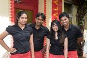 Die Restaurant-Crew des «Masala», das Ende März schliesst. (Bild: www.reginadepaolis.ch)