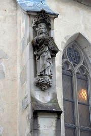 Der heilige Oswald, der hier in Wahrheit ein anderer ist. (Bild: Maria Schmid / Neue ZZ)