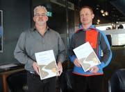 Daniel Rütter und Rolf Fahrni wurden für ihren mutigen Einsatz geehrt. (Bild: PD)