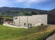 Das neue Unterwerk Etzel in Altendorf auf rund 600 Quadratmetern. (Bild: PD)