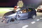 Beide Autos erlitten bei der Frontalkollision Totalschaden. (Bild: Luzerner Polizei)