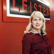 Ihr sind alle Schwinger gleich lieb: Christiane Leister, die den Schwingsport mit viel Tatkraft unterstützt. (Bild Manuela Jans)