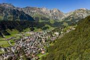 In Engelberg sind die Eigentumswohnungen und Einfamilienhäuser etwas teurer als im Rest des Kantons. (Bild: Philipp Schmidli (Engelberg, 7. August 2016))