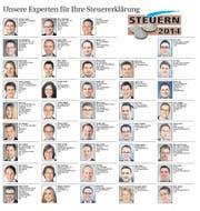 Unsere Experten für Ihre Steuererklärung. (Bild: Neue LZ)