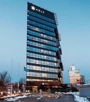 Die ABLV war bis zu ihrem Zusammenbruch die drittgrösste Bank Lettlands. (Bild: Roni Rekomaa/Bloomberg (Riga, 22. Februar 2018))