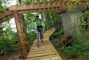 Die Bike-Arena Emmetten sorgt für touristische Impulse. (Bild Oliver Mattmann/Neue OZ)
