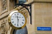 Eine Uhr der Firma Bucherer. (Symbolbild Keystone)