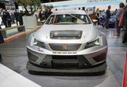 Ebenfalls am Stand von Seat: der neue Leon Cupra Evo 17 – die Rennversion, die in der TCR International Series eingesetzt werden soll.