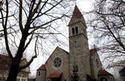 Die reformierte Kirche Zug. (Bild Christof Borner-Keller)