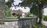 Der Weiler Kirchbühl oberhalb von Sempach. (Bild: Google Streetview)