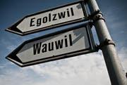 Wauwil und Egolzwil werden in absehbarer Zeit nicht miteinander fusionieren. (Bild: Boris Bürgisser / Neue LZ)