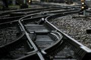 Auf der Strecke zwischen Arth-Goldau und Steinen werden die Gleise erneuert. (Symbolbild Neue LZ)