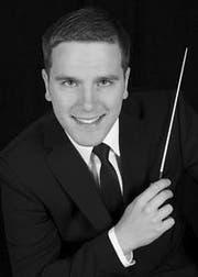 Enrico Calzaferri ist neuer Dirigent der Brass Band Rickenbach. (Bild PD)