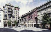 Das zweitrangierte Projekt «Wo ist Walter» der Basler Buol & Zünd Architekten. (Bild: visualisierung/pd)
