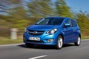 Der Opel Karl erfüllt die Kriterien eines Kleinstwagens voll und ganz. (Bild Werk)