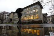 Zentral- und Hochschulbibliothek in der Luzerner Neustadt. (Bild: Archiv Philipp Schmidli / Neue LZ)