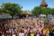 Tausende Läuferinnen und Läufer, darunter auch viele Kinder, nehmen jedes Jahr am Luzerner Stadtlauf teil. (Bild: Roger Zbinden/Neue LZ)
