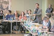 Grünen-Fraktionschef Andreas Kappeler weibelte vergebens gegen die moderate Steuererhöhung. (Bild: Boris Bürgisser (Emmen, 20. März 2018))
