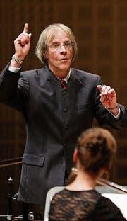 Franz Schaffner überzeugte mit seinem Bach-Ensemble. (Bild: Philipp Schmidli (25. Januar 2014))