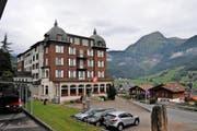 Das Hotel St. Josef in Lungern. «Es geht finanziell einfach nicht mehr», sagt Genossenschaftspräsidentin Hedy Jager. (Bild Christoph Riebli)
