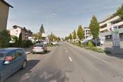 Der Unfall ereignete sich auf der Stationsstrasse in Rothenburg. (Bild: Google Maps)