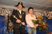 Das Zunftpaar Thomas Scheuber und Regina Kaufmann. (Bild pd)