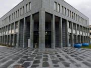 Das Zuger Kantons- und Strafgericht. (Bild: Urs Flüeler/Keystone (Zug, 12. Mai 2015))
