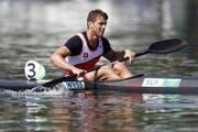 Fabio Wyss (Kanu Regatta, 27, Buochs) (Bild: Peter Klaunzer / Keystone)