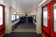 So wie in der S-Bahn Zürich (Bild) soll es auch in Luzern Stehplatzzonen geben. (Bild: Keystone)