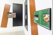 Ausstellung im Luzerner Kunstraum Apropos. (Bild: Philipp Schmidli)