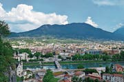 Die italienische Provinz Trentino mit dem Hauptort Trento (Trient) hat sich von einem landwirtschaftlichen Gebiet zu einem Innovationszentrum gemausert. (Bild: Getty)
