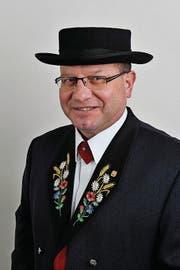 Richard Huwiler, Vizepräsident des Eidgenössischen Jodlerverbands. (Bild: Edi Wismer (Luzern, 20. Dezember 2010))