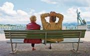 Die Reform der Altersvorsorge betrifft alle Stimmberechtigten stark. (Bild: Gaëtan Bally/Keystone)