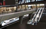 So könnte der Durchgangsbahnhof Luzern dereinst aussehen. (Bild: Visualisierung PD)