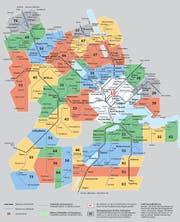 Der neue Zonenplan in den Kantonen Luzern, Ob- und Nidwalden, gültig ab dem 14. Dezember 2014 (Bild: PD)