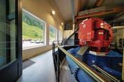 Das Kraftwerk Bristen leistet seit Mai seinen Beitrag an den Erfolg des EWA. (Bild: PD)