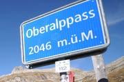 Ist als einziger Pass bereits geöffnet: Der Oberalppass. (Bild: Urs Hanhart / Neue UZ)