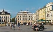 Blick auf den Marktplatz in Cieszyn. Die Stadt liegt westlich von Krakau an der tschechischen Grenze. (Bild: Imago)
