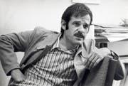 Am 24. November 1972 verunglückte der Berner Chansonnier Mani Matter nach einem Auftritt in Rapperswil bei einem Autounfall im Alter von 36 Jahren tödlich. (Bild: ALBERT WINKLER (KEYSTONE))