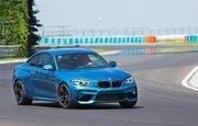 Das dynamische Design hält, was es verspricht: Der BMW M2 ist sehr sportlich. Bild Werk