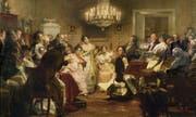 In Wien eine bekannte Grösse des musikalischen Lebens: Franz Schubert bei einem Hauskonzert. (Bild: Imago/Getty)