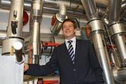 CKW-CEO Andrew Walo. (Bild: Remo Naegeli / Neue LZ)