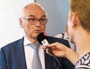Pierre Alain Schnegg, Gesundheits- und Fürsorgedirektor des Kantons Bern. (Bild: Thomas Delley/KEY)